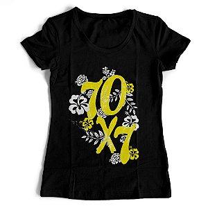Camiseta Feminina - 70x7 Floral
