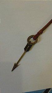 Cordão Flecha (marrom) - Marca 70x7
