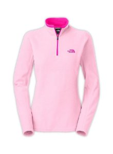 Fleece North Face W Glacier 1/4 zip Pink Lady