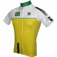 Camisa Ciclista Brasil Free Force