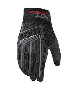 Luva Moto X11 Nitro 3 Preta - Tamanho P