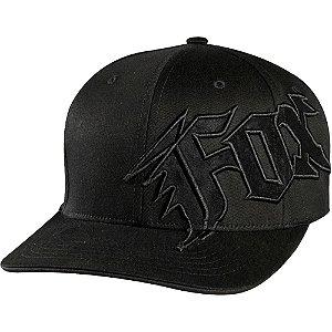 Boné Fox New Generation Flex Fit Preto - Tamanho S/M