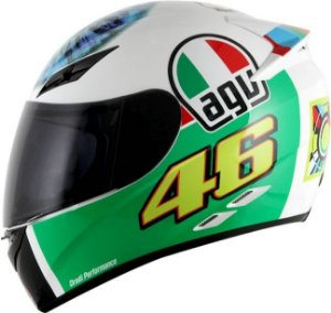 Capacete AGV K3 The Eye - Valentino Rossi