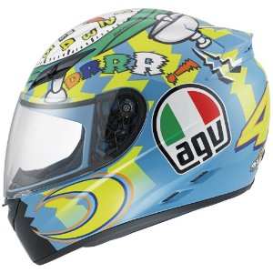 Capacete AGV K3 Wake Up - Valentino Rossi