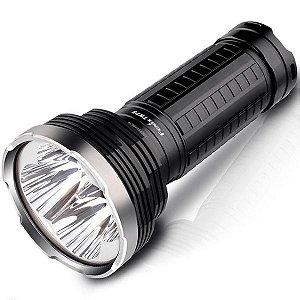 Lanterna Holofote Fenix TK75 4000 lumens 4 Leds Cree Alta Potência Caça Busca ou Resgate