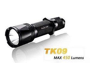 Lanterna Fenix TK09 Tática Simplificada Apenas um Botão e 3 Modos de luz Led Cree de 450 Lumens