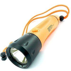 Lanterna de Mergulho Profissional Nova Fitech IP68 F8 Pesca Sub Led Cree 800 lumens Recarregável