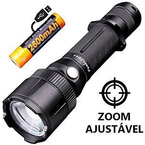 Lanterna Holofote Fenix FD41 Caça Busca e Resgate Led Cree de 900 Lumens com Zoom Foco Ajustável