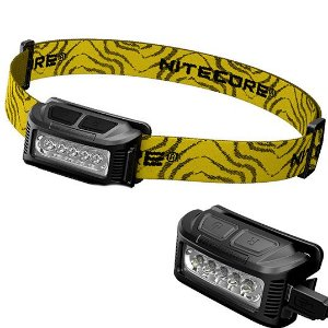 Lanterna de Cabeça Nitecore NU10 Profissional Recarregável Led Cree Forte de 150 Lumens Leve e Confiável