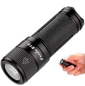 Lanterna Tática Compacta e Potente Fenix E15  2016  Led Cree 4 Modos 450 Lumens