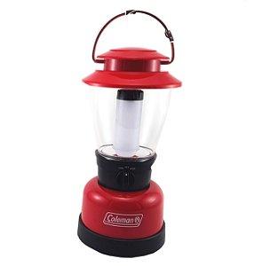 Luminária Lampião de Led Coleman Classic CPX 4 Pilhas D ou Bateria Recarregável Alto Rendimento
