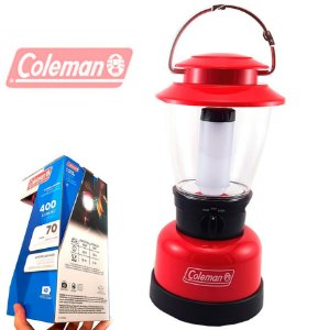 Lampião de Led Grande Coleman Classic 400 Lumens 70 Horas