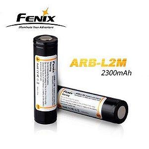Bateria de alto desempenho 18650 Fenix ARB L2 2300 mAh com circuitos de proteção