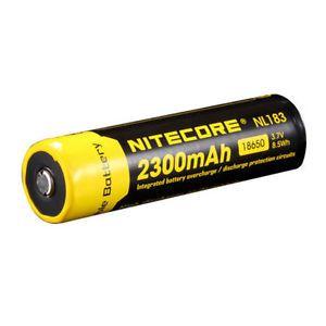 Bateria de Alto Desempenho 18650 Nitecore NL1823 2300 mAh com Circuitos de Proteção
