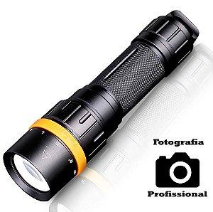 Lanterna de Mergulho e Fotografia Profissional Fenix SD11 Led Cree Alto CRI 1000 Lumens