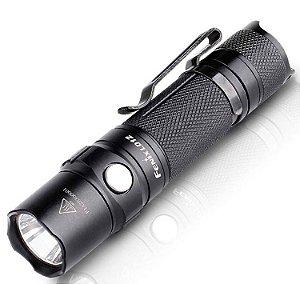 Lanterna Pequena Led Cree Fenix LD12 320 Lumens + 1 pilha AA uso Diário EDC ou Tático