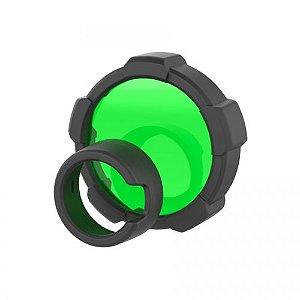Filtro de luz Ledlenser verde com 85,5mm