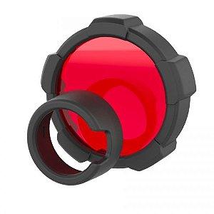 Filtro de luz Ledlenser vermelho com 85,5mm