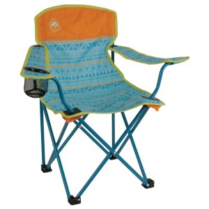 Cadeira Dobrável Infantil Coleman Kids Acabamento Premium - Verde