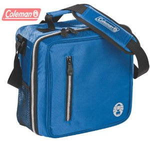 Bolsa Térmica Coleman Messenger 12 Latas Azul o Melhor Acabamento e Isolamento