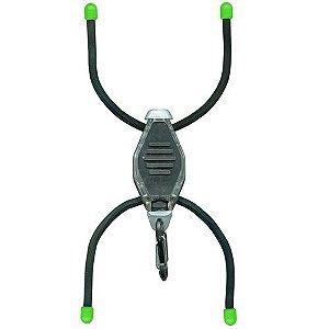Mini lanterna de sinalização BugLit - preta
