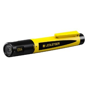 Lanterna Intrinsecamente Segura LedLenser EX4 ATEX Anti Explosão