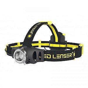 Lanterna de Cabeça Recarregável LedLenser IH6R 200 Lúmens COMPLETA