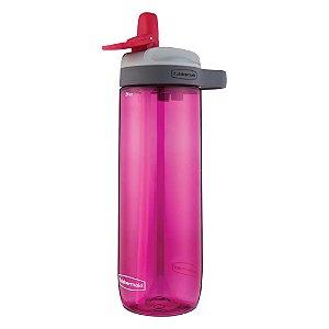 Squeeze - Garrafa de água Rosa 709ml - Rubbermaid