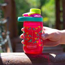 Squeeze - Garrafa de água Infantil de passarinhos 414ml - Rubbermaid