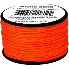 Microcord Cordame Militar Cor Sólida 1,18mm rolo com 37,5m - Laranja Neon