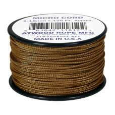 Microcord Cordame Militar Cor Sólida 1,18Mm Rolo Com 37,5M - Coyote Brown