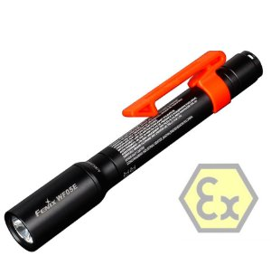 Lanterna Anti Explosão ATEX Fenix WF05E Intrinsecamente Segura 85 Lumens