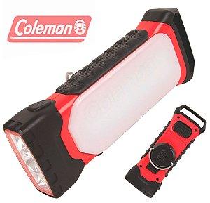 Lanterna Luminária Coleman 2 em 1 Rugged 200 Lumens para Camping