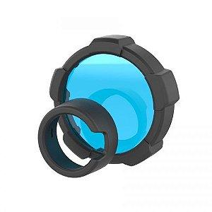 Filtro de luz Ledlenser azul com 85,5mm