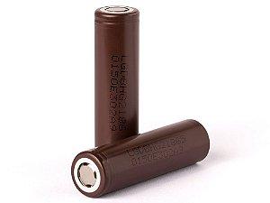 Bateria Pilha 18650 LG HG2 3500 mAh IMR