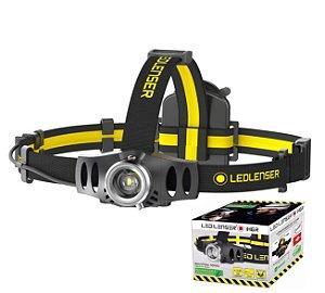 Lanterna Led de Cabeça e Capacete Industrial LedLenser IH6R