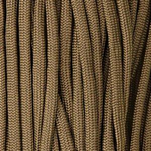 Cordame Paracord 550 Lb com 7 filamentos 10 metros - Coyote Brown