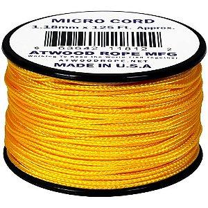 Rolo de Corda Cordame Militar Microcord 1,18mm x 37,5m - Amarelo