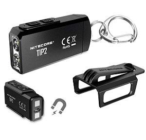 Mini Lanterna Chaveiro Nitecore TIP2 Potente 720 Lm