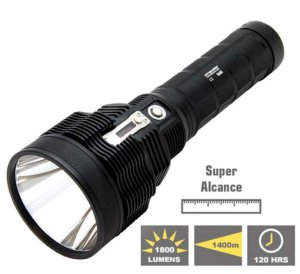 Lanterna Nitecore TM38 Super Longo Alcance 1400 Metros
