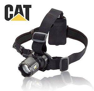 Lanterna de Cabeça e Capacete Caterpillar CT4200 Industrial 220 Lumens Foco Ajustável