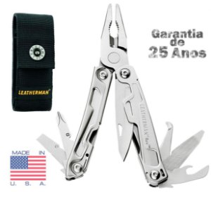 Alicate Multi 14 Ferramentas Leatherman REV Compacto