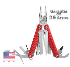 Alicate Leatherman Charge+ Multi 19 Ferramentas Red