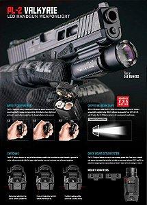 Lanterna trilho Pistola Olight PL-2 Valkyrie 1200 lm