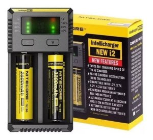 Carregador inteligente Nitecore NEW I2