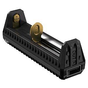 Carregador Inteligente Nitecore F1 Função Power Bank