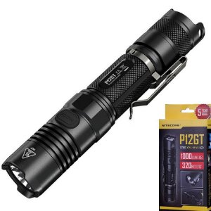 Lanterna P12GT Tática Policial NiteCore Led 1000 Lumens