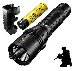Lanterna Tática Nitecore P22R 1800 Lm Funções Policiais