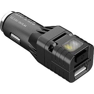 Mini Lanterna Nitecore VCL10 Multi Função Carregador USB Carro Sinalizador