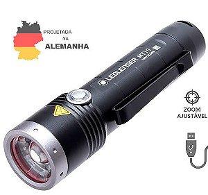 Lanterna LedLenser MT10 1000 Lúmens Zoom Ajustável Kit